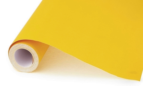 Yellow Poster Paper 50m Roll