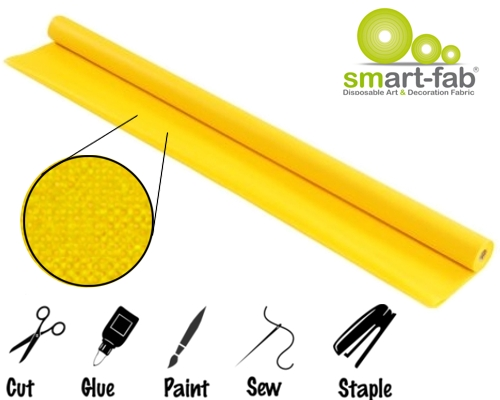 Yellow Smart-Fab Creative Display Fabric