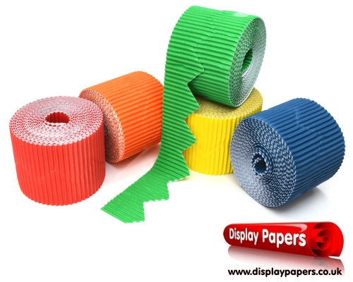 Zig Zag Corrugated Border Rolls Assortment