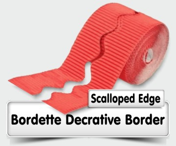 Bordette - Scalloped Edge