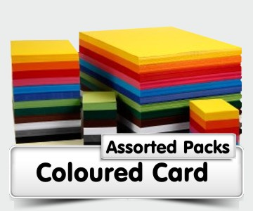 Assorted Coloured Card Packs