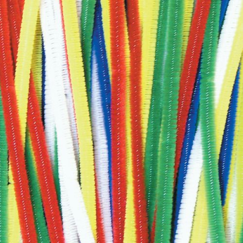 Primary Colour Pipe Cleaners Pk 100