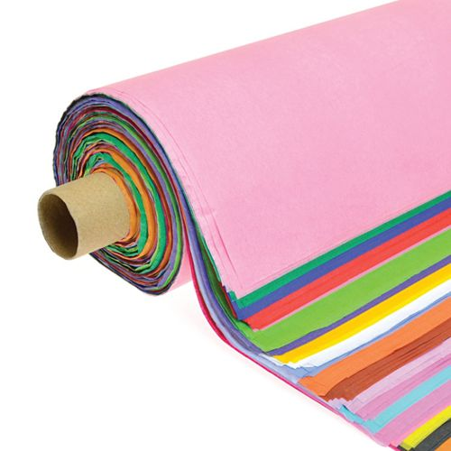Tissue Paper Roll 508mm x 660mm 200 Sheets - Assorted Colours