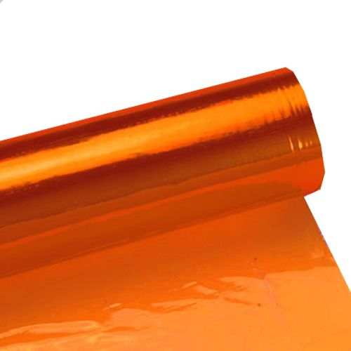 Orange Cellophane 4.5m Roll