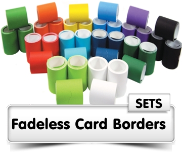 Fadeless Card Borders Sets