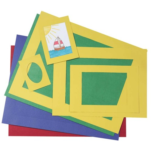 Coloured Pre-Cut Mat Frames