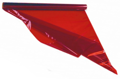 Red Cellophane 4.5m Roll